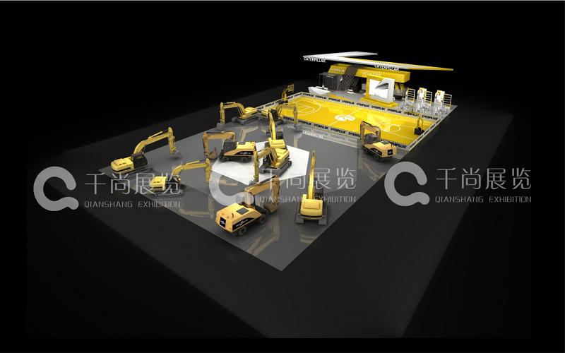 卡特彼勒国际工程机械展